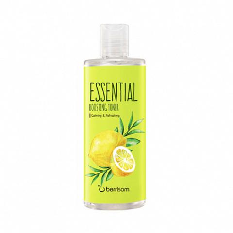 Тоник для лица успокаивающий и освежающий с лимоном и чайным деревом, 265 мл, Berrisom