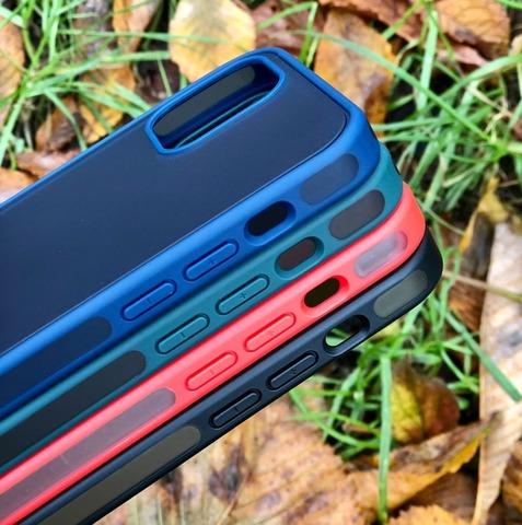 Чехол iPhone 12 Pro /6,1''/ iPaky Knight series /black/
