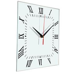 Настенные часы Ideal 834 белые