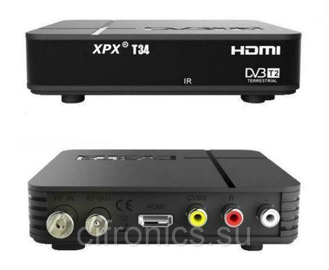 Ресивер эфирный цифровой DVB-T2 HD T34