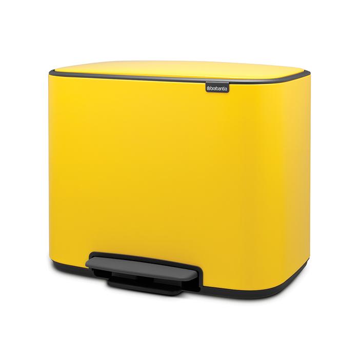 Мусорный бак Bo  (36 л), Желтая маргаритка, арт. 121425 - фото 1