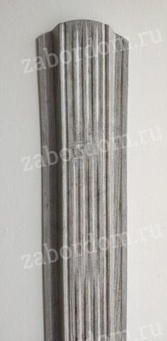 Евроштакетник металлический 115 мм Ясень П - образный 0.5 мм