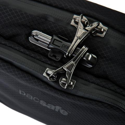 Картинка сумка поясная Pacsafe Venturesafe X Waistpack черный - 6