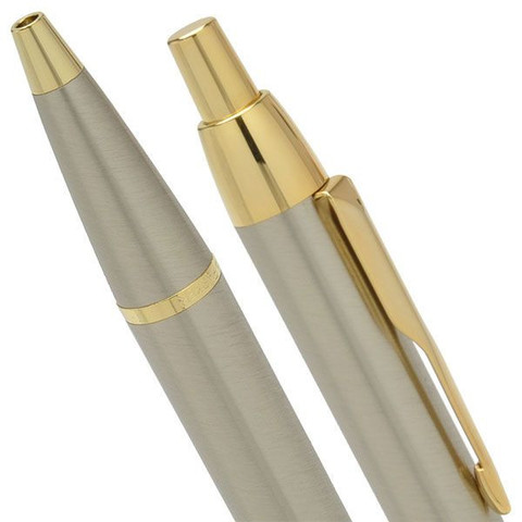Шариковая ручка Parker IM Metal K223, Brushed Metal GT123
