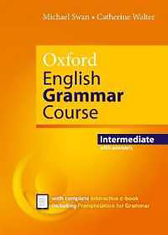 9780194414876 - Oxford English Grammar Course Intermediate with Answers and e-Book