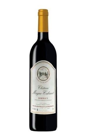 Вино защ. Шато Мейн Кабано кр. сух 12,5* Алкомаркет 0,75л