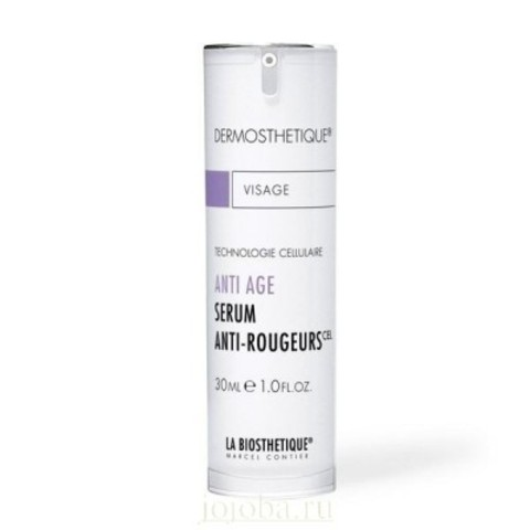 La Biosthetique Anti-Aging Dermosthetique для лица: Anti-Age клеточно-активная сыворотка для кожи лица с куперозом (Anti-Age Serum Anti-Rougeurs), 30мл