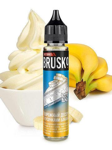 Творожный десерт с кусочками банана by Brusko Salt 30 мл