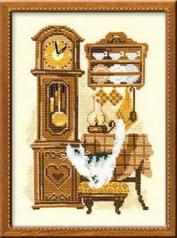 Набор для вышивания крестом «Часы» (858)