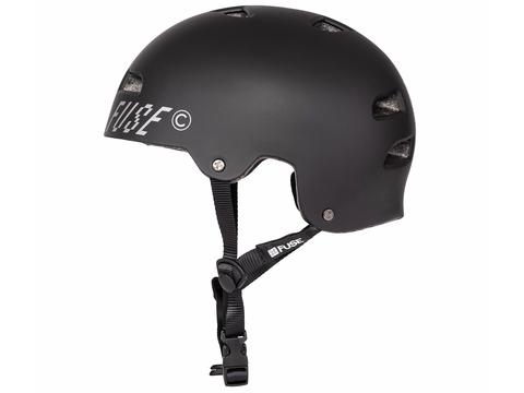 Шлем Fuse Alpha черный матовый