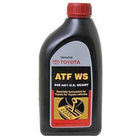 TOYOTA ATF WS Жидкость для АКПП с типтроником для LC100 (пластик/США)