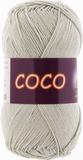 Пряжа Vita Coco 3887 серый