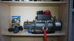 Лебёдка Electric Winch 12000lbs М/Т 24v