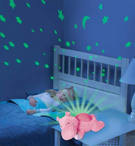 Светильник-проектор звездного неба Summer Infant Dozzing Hippo, розовый