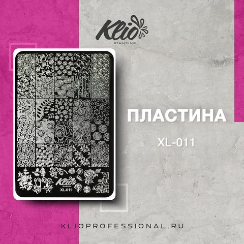 ПЛАСТИНА ДЛЯ СТЕМПИНГА KLIO PROFESSIONAL XL-011
