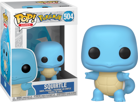 Фигурка Funko Pop! Games: Pokemon - Squirtle