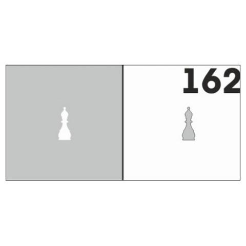 Трафарет для ногтей 6 шт. /1 уп. №162