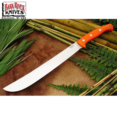 Мачете Bark River модель Golok Upswept Blaze Orange G-10