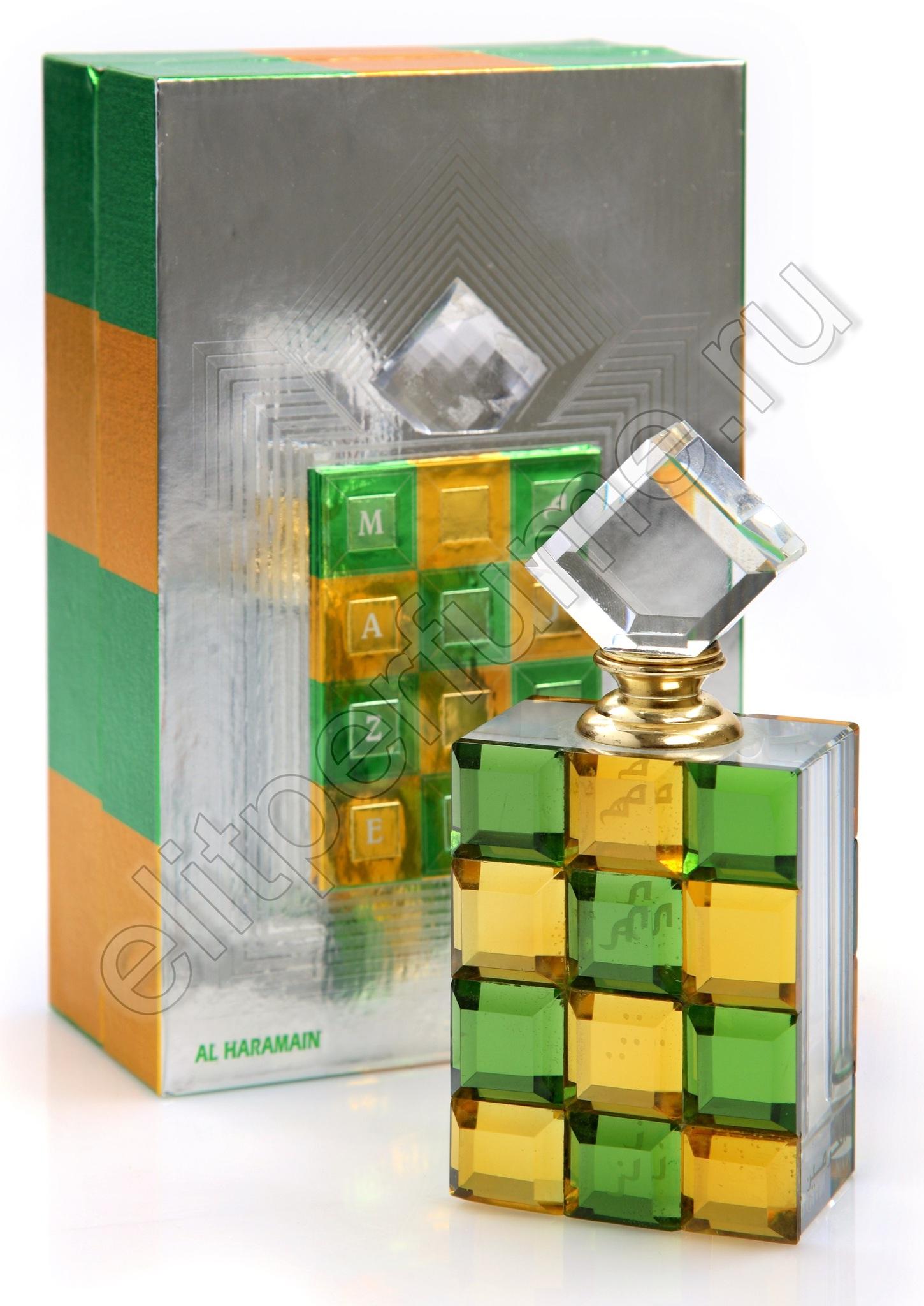 Лабиринт / Maze 12 мл арабские масляные духи от Аль Харамайн Al Haramain Perfumes