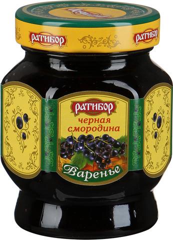 """Варенье """"Ратибор"""" черная смородина 400г"""