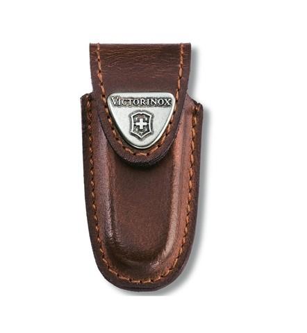 Чехол кожаный Victorinox для ножей 58 мм, 1-2 уровня, коричневый