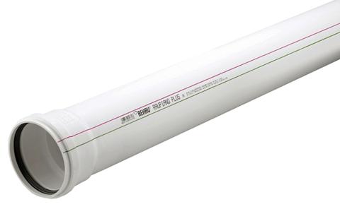 Rehau Raupiano Plus d 50/1000 мм труба канализационная (11201341200)