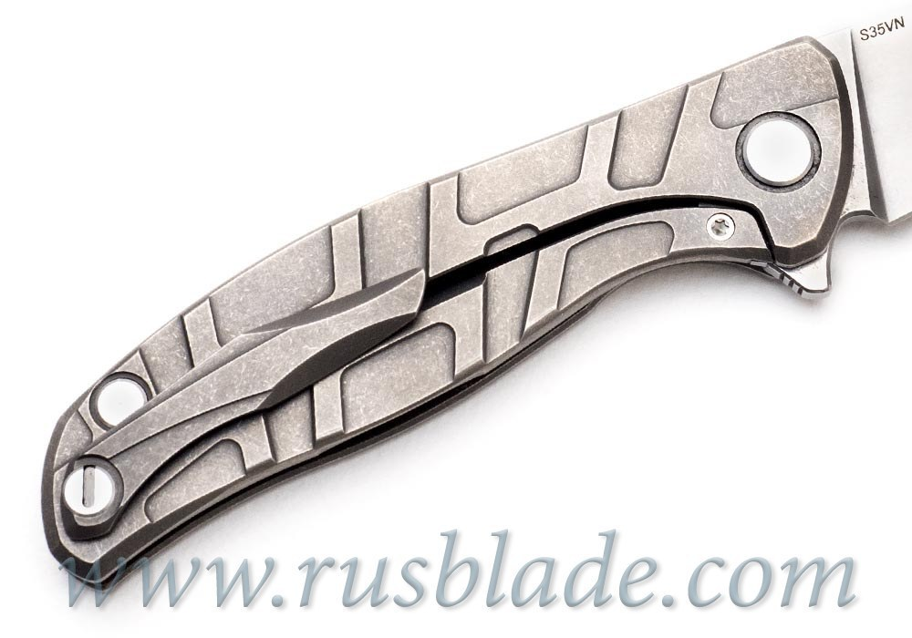 Shirogorov Flipper 95 S35VN T-mode w/ bearings - фотография