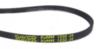 Ремень 1232 J4 PV Dayco для стиральной машины Whirlpool (Вирпул) 1232мм черный, желтая надпись