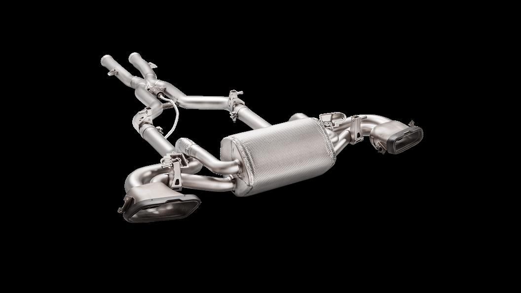 Выхлопная система AKRAPOVIC для Mercedes AMG GT