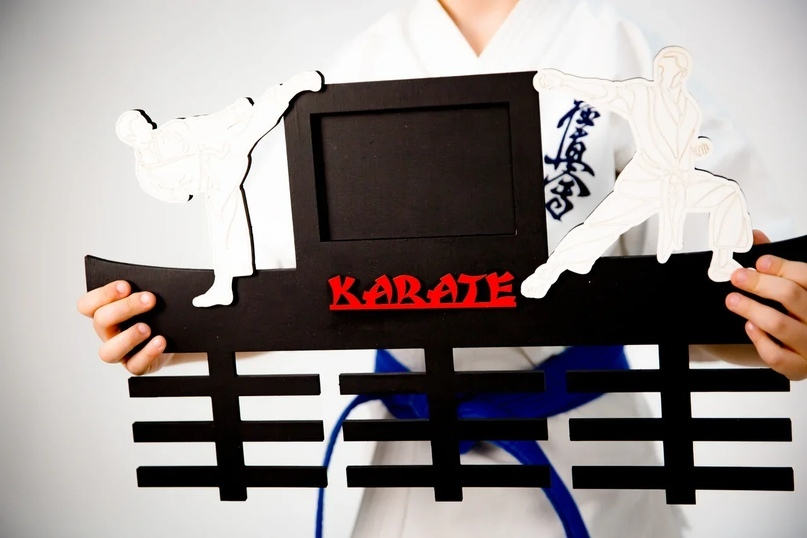 Аксессуары Медальница karate -LGGq4ltScQ.jpg