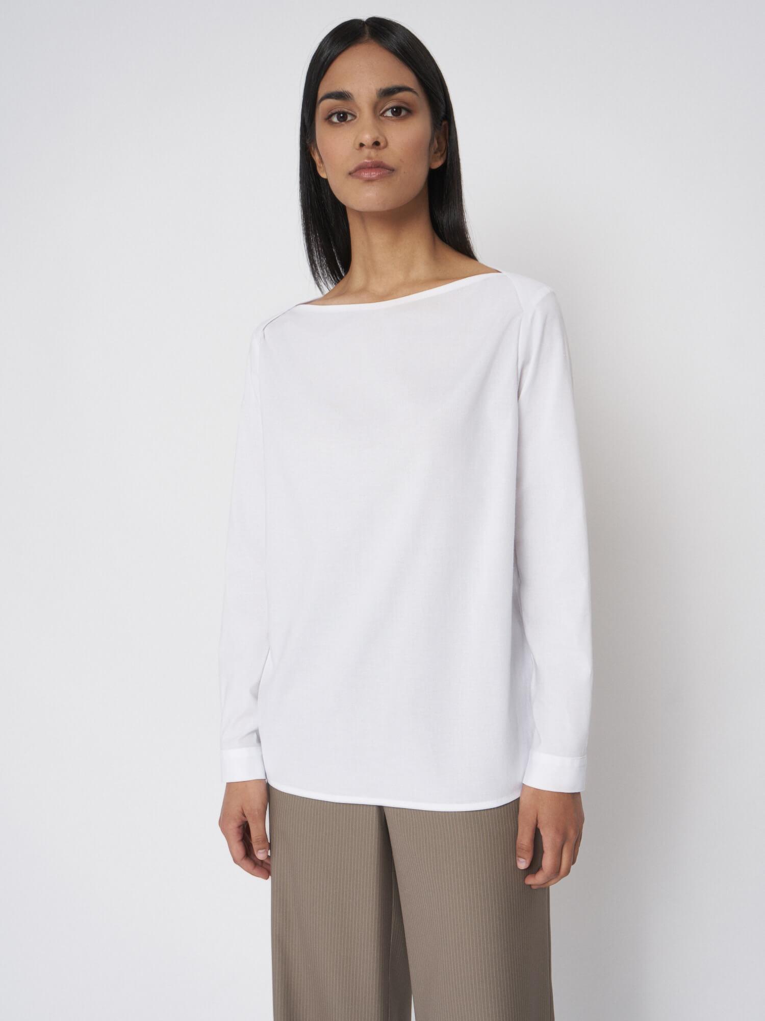 Рубашка Debora с плечевыми срезами внахлёст