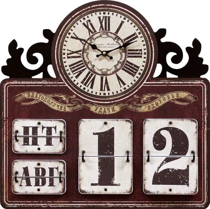 Настенные часы Михаил Москвин  Часы-календарь-4