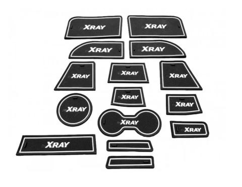 Коврики силиконовые панели приборов Xray