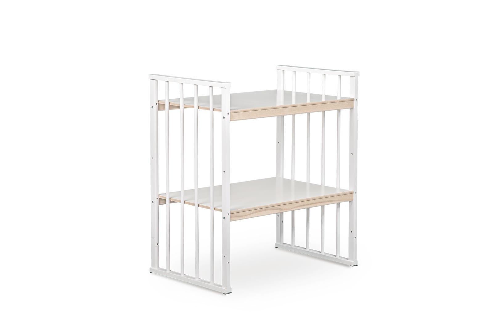 Кроватка для новорожденных трансформер Sleepy 8 в 1 без маятника Голубой