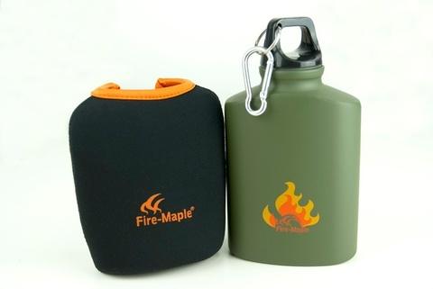 Картинка фляга туристическая Fire-Maple ARMY BOTTLE 450 мл  - 3