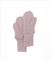 Варежки двухслойные ManyMonths, Нежно-розовый (шерсть мериноса 100%)