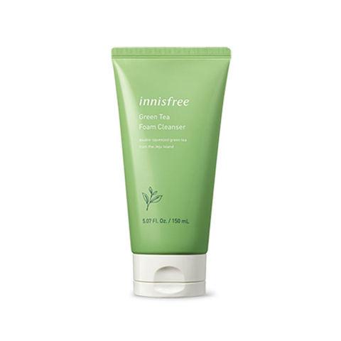 Innisfree Green Tea Foam Cleanser Пенка для умывания с экстрактом зеленого чая
