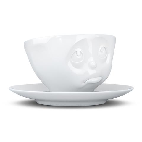 Чайная пара Tassen Oh please 200 мл белая