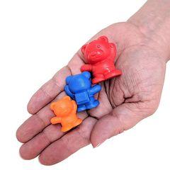 Развивающая игрушка фигурки Мишки с рюкзаками (счетный материал) Edx education, арт. 13100C