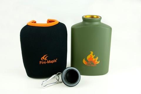 Картинка фляга туристическая Fire-Maple ARMY BOTTLE 450 мл  - 4