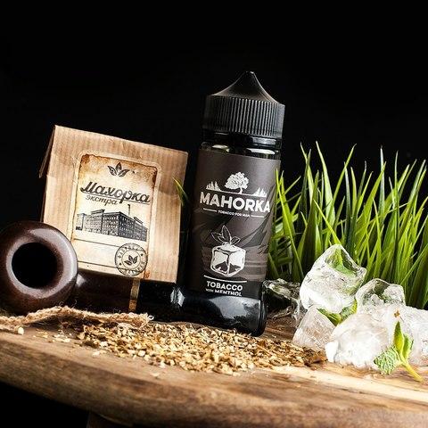 Жидкость Mahorka 120 мл Tobacco with Menthol