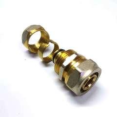 муфта для соединения металлопластиковых труб