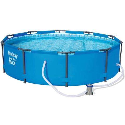 Каркасный бассейн Bestway 14415 (305х100 см) с картриджным фильтром / 20610