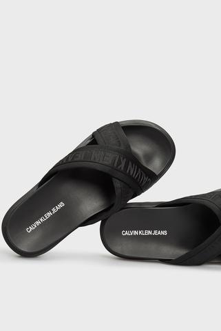Мужские черные сандалии Calvin Klein