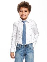 OLD NAVY Рубашка школьная с галстуком МВ117