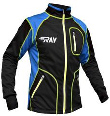 Утеплённая лыжная куртка RAY STAR WS Black-Blue 2018