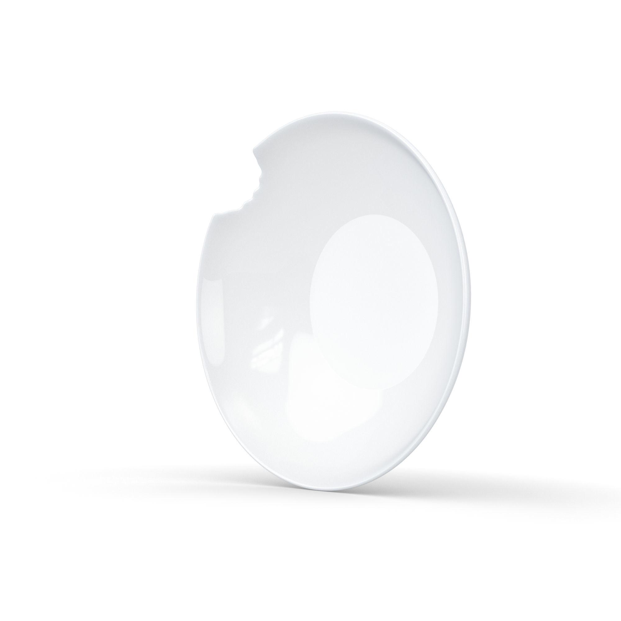 Набор глубоких тарелок TASSEN  со следом укуса 18 см