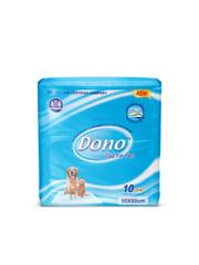 Dono одноразовые впитывающие пеленки размер 60х60 10 штук