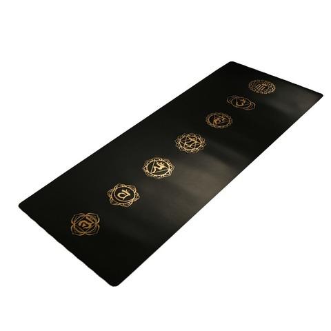 Каучуковый коврик для йоги Chakras YY 183*65*0,4 см
