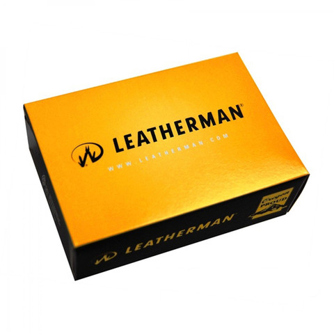 Мультитул Leatherman Crunch, 15 функций, кожаный чехол (68010181N) - Multitool-Leatherman.Ru
